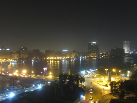 Novotel Cairo El Borg: Nile view from the room