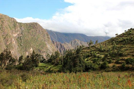 Pumamarca Ruins: Surrounding valley