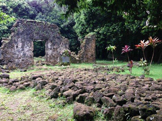 Nau Wale No Tours of Oahu: Ruins of Kings Summer Residence