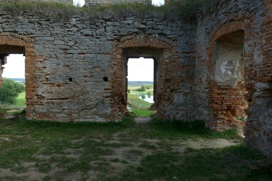Medzhybizh Fortress: Part of the ruined area