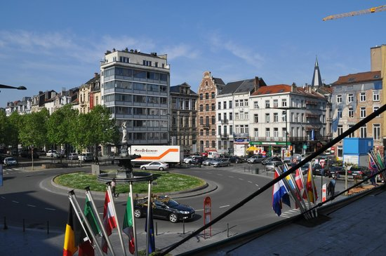 Hotel a la Grande Cloche: View from our room