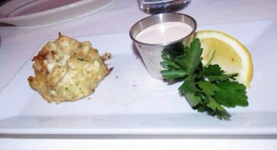 The Oceanaire Seafood Room: Crab Cake