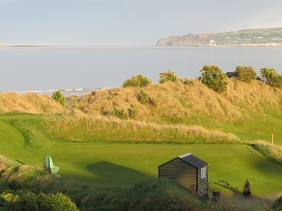 Portmarnock Hotel and Golf Links: view from bridal suite