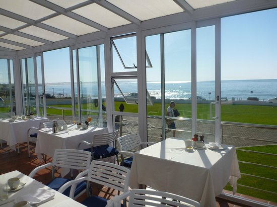 Arniston Spa Hotel: View from restaurant for breakfast!