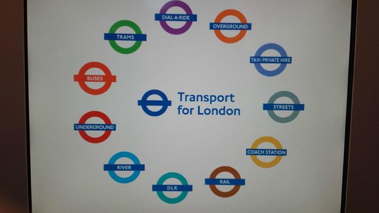 London Transport Museum: London Transport Logos 2