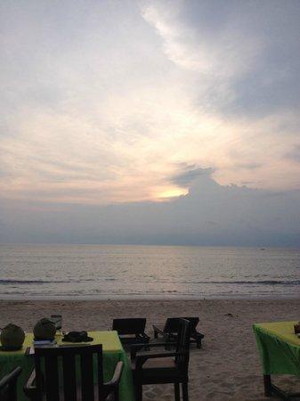 Jimbaran Bay : The Sunset