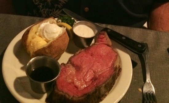 Sealand Restaurant Best Prime Rib Ever