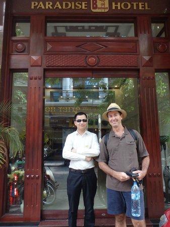 Paradise Boutique Hotel : Paradise 2 Hotel Entrance