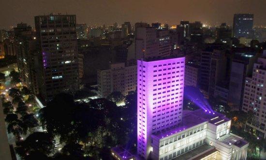 Hotel Novotel Sao Paulo Jaragua Convention : Vue de ma chambre après avoir demandé de changer: WOW!