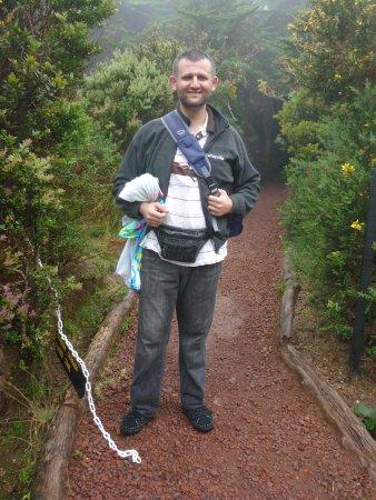 Poas Volcano: Me in the nature