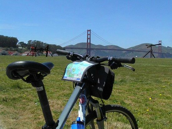 Bay City Bike Rentals and Tours : Cycling To The Golden Gate Bridge