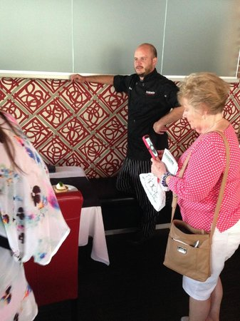 Greenville History Tours: Chef Chambers at Breakwater