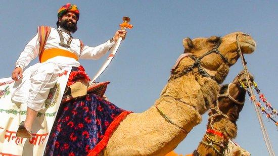 Mr. Desert during the time of Desert Festival sponsored by Hotel Fifu
