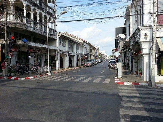 Old Phuket Town: 街並み