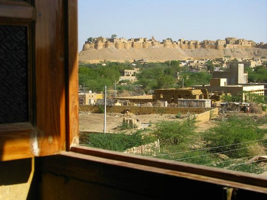 Hotel Fifu: View of Jaisalmer Fort from the room