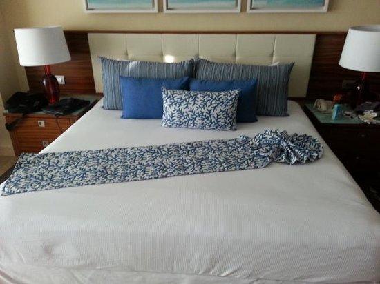 The Grand Bliss Riviera Maya: bed made up