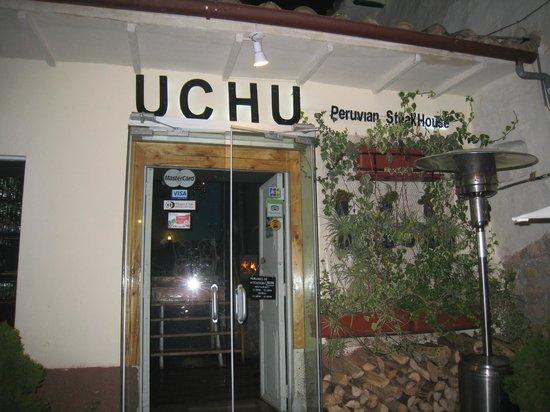 Uchu Peruvian Steakhouse: Front of Uchu
