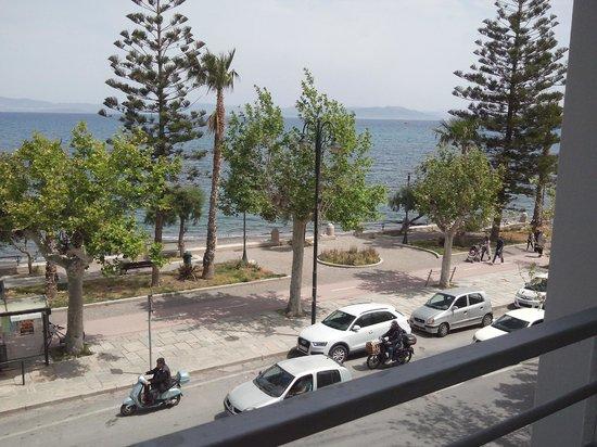 Triton Hotel : view of balcony