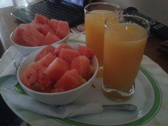 Hotel Santa Lucia Comayagua: Sorpresa de bienvenida :)