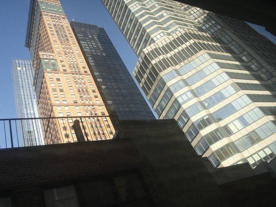Wellington Hotel : Vista desde la ventana del cuarto