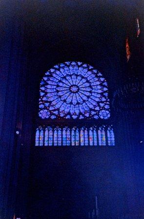 Cathédrale Notre-Dame de Paris : stainglass