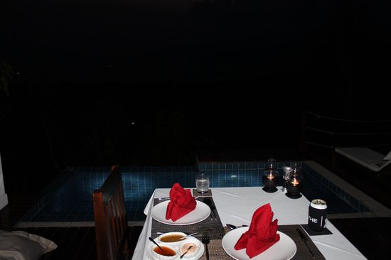 The Place Luxury Boutique Villas : Private Dining