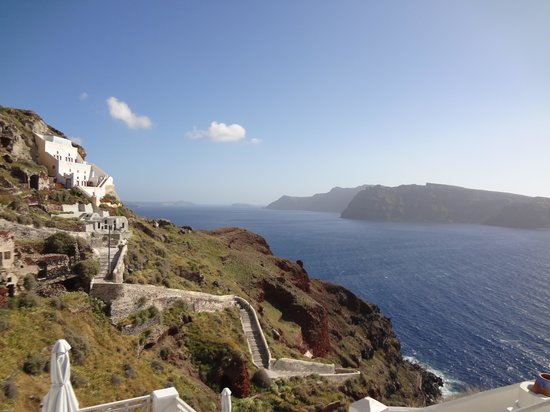 Oia Mare Villas: another view from the room
