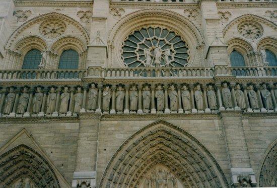 Cathédrale Notre-Dame de Paris : closeup