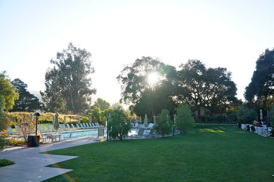 Carmel Valley Ranch : Pool by gym area