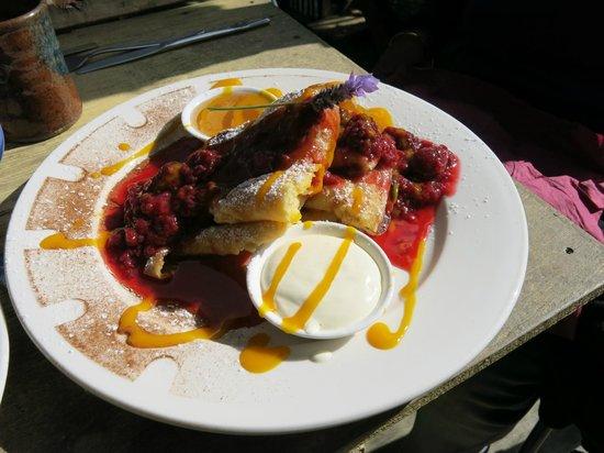 Driving Creek Cafe: Pancakes