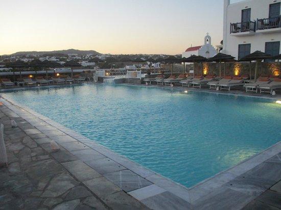 Myconian K Hotels : Ótima para relaxar !