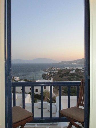 Myconian K Hotels : Vista belíssima!