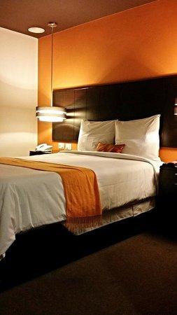 Hotel Ginebra: Estandar room--even the cheapest rooms are quite stylish