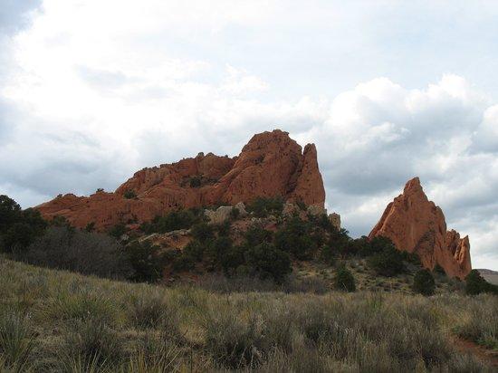 Jardín de los dioses (Garden of the Gods): rock formations