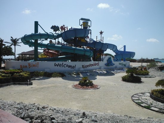 De Palm Island: waterslides