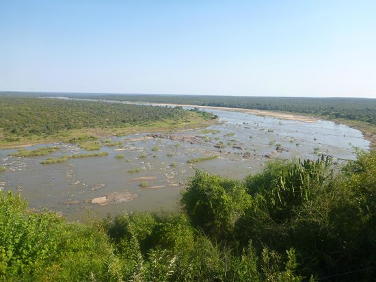 Olifants Rest Camp: View from restaurant/main area