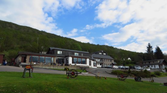 Clan MacDuff Hotel from the A82