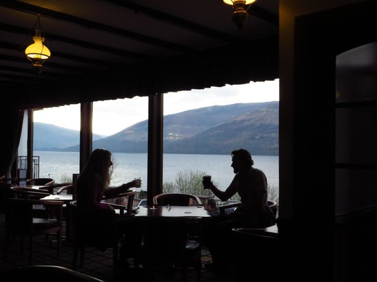 Clan Macduff Hotel: View from the Bar