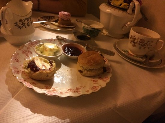 Soho's Secret Tea Room: These were just as tasty as they look