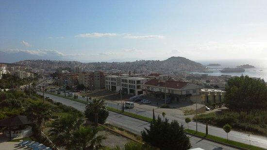Royal Palace: Balcon con vista al Mar Egeo