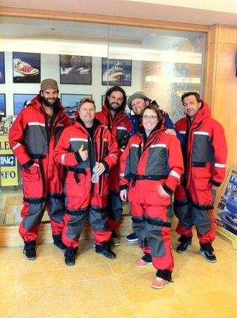 Sea Vancouver: Amazing Tour friends and Captain Dominic