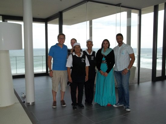 The Ocean View Luxury Guest House : The Hosts and Staff
