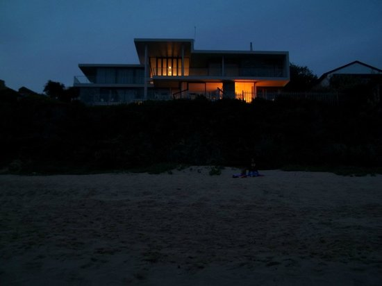 The Ocean View Luxury Guest House: View from Beach