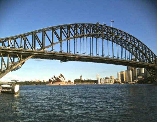 how to get to luna park sydney by train