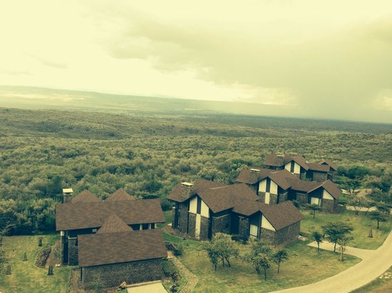 Great Rift Valley Lodge & Golf Resort: View from the villas