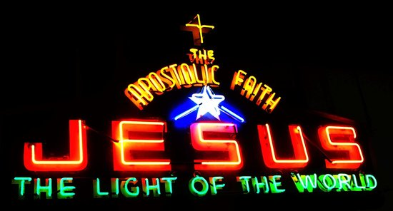 Museum of Vancouver : Jesus and the Light of the World