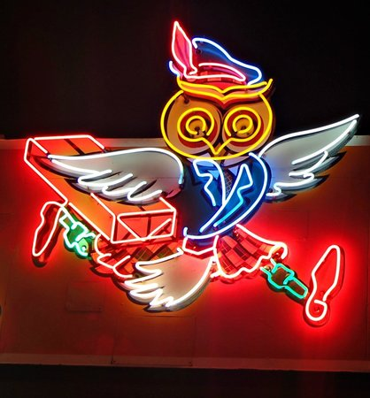 Museum of Vancouver : Hootie The Owl, We deliver