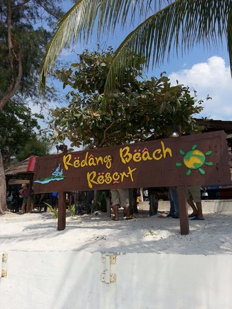 Redang Beach Resort Signage
