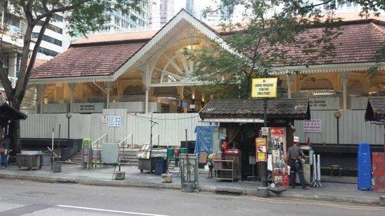 Lau Pa Sat Festival Pavilion: SGD 4Million worth of renovation?