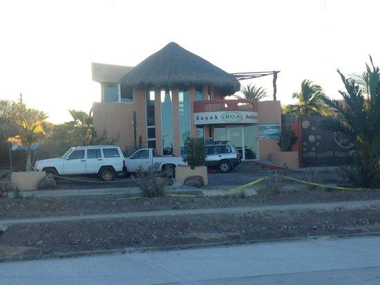 Baja Outdoor Activities (BOA): BOA Building